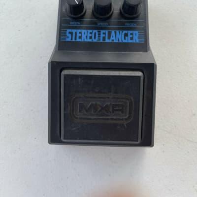 MXR M-203 Stereo Flanger Analog 2000 Series Rare Vintage Guitar Effect Pedal