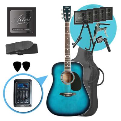 Artist LSPCEQTBB Ultimate Beginner Acoustic Guitar Pack for sale