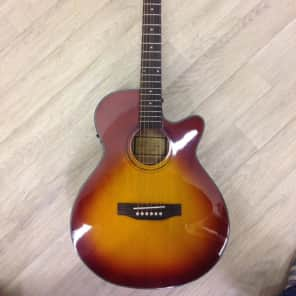 Freshman FA1AHB Honey Burst Electro Acoustic for sale