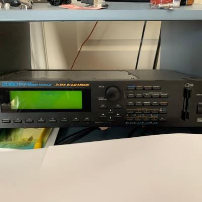 Roland JV-2080 64-Voice Synthesizer Module (Two Expansion Cards Included)