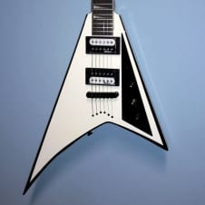 JACKSON JS32T Rhoads  Electric Guitar White with Black Bevel / Mint Refurbished