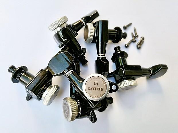 Sale Gotoh Sg381 Mg T Black Magnum Lock Trad Locking Tuners Reverb