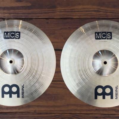 "USED Meinl MCS 14"" Hi-Hat Cymbals (Pair)"