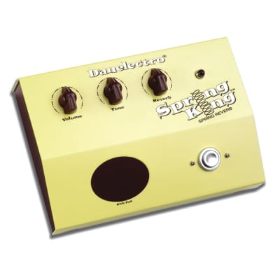 Danelectro DSR-1 Spring Reverb Pedal Effect for sale