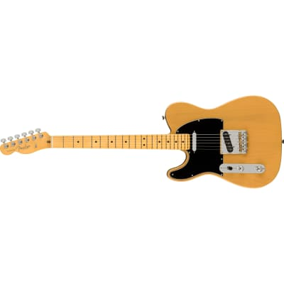 Fender American Professional II Telecaster Left-Hand Guitar, Butterscotch Blonde