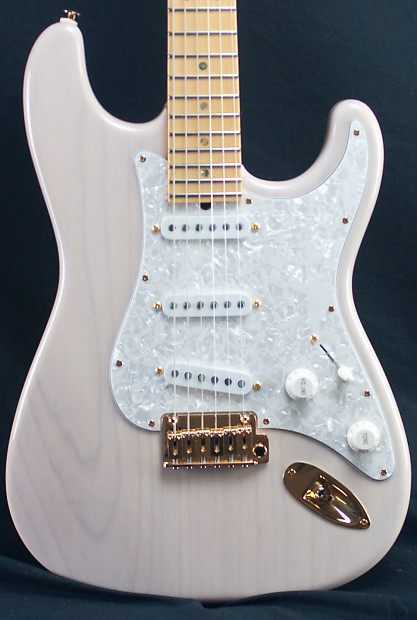 suhr classic trans white reverse headstock electric guitar reverb. Black Bedroom Furniture Sets. Home Design Ideas