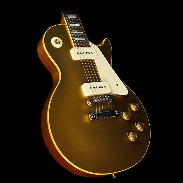 Used 2015 Gibson Custom Shop True Historic 1956 Les Paul Reissue Electric Guitar Goldtop