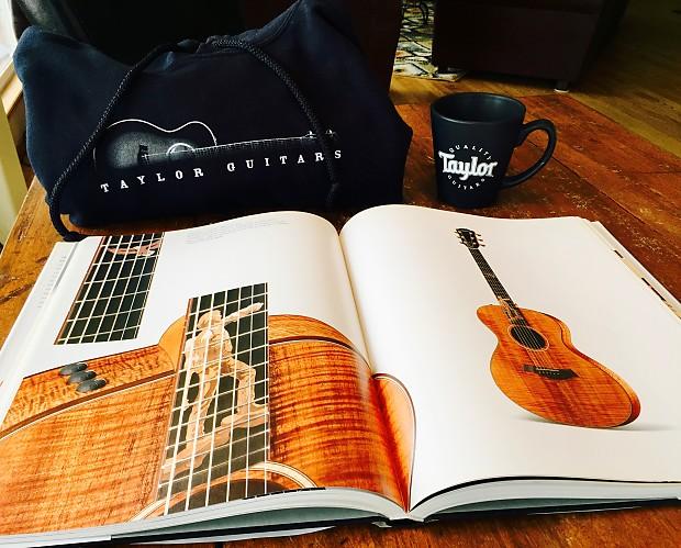 Taylor Guitars TaylorWare Bundle Coffee Table Book Mug Reverb