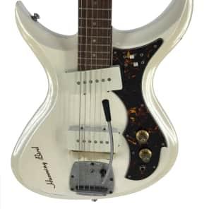 Tokai Humming Bird, Offset Guitar, White, Vintage 1968, RARE for sale