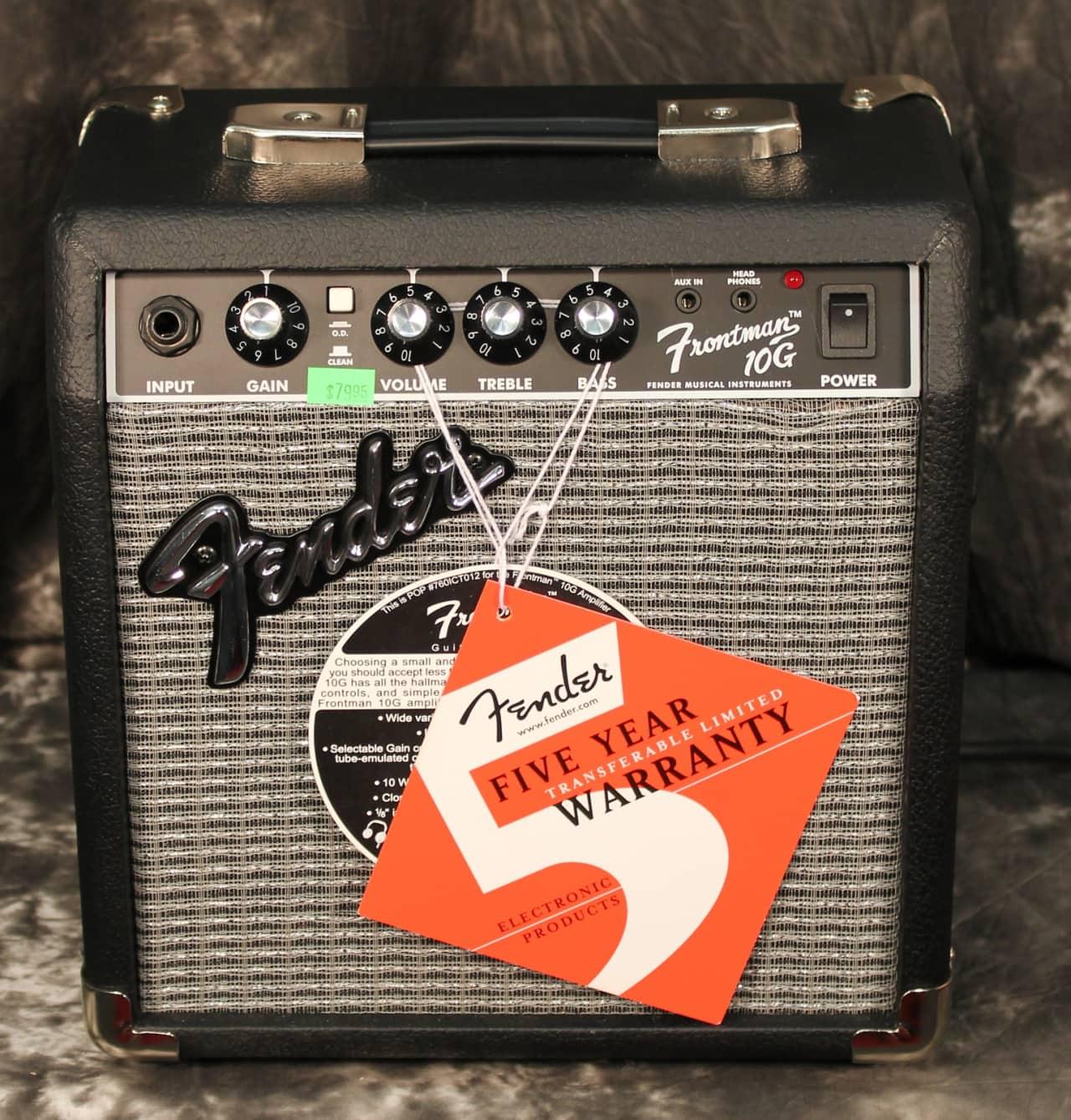 fender frontman 10g 10w electric guitar combo amplifier reverb. Black Bedroom Furniture Sets. Home Design Ideas