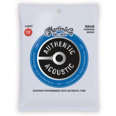 Martin MA540 Acoustic Phospher Bronze Guitar Strings .12-.054