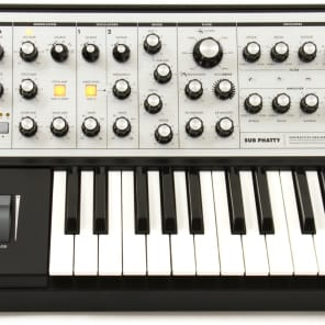 Moog Sub Phatty Synthesizer 25-Key Monophonic Analog Synthesizer Synth Keyboard