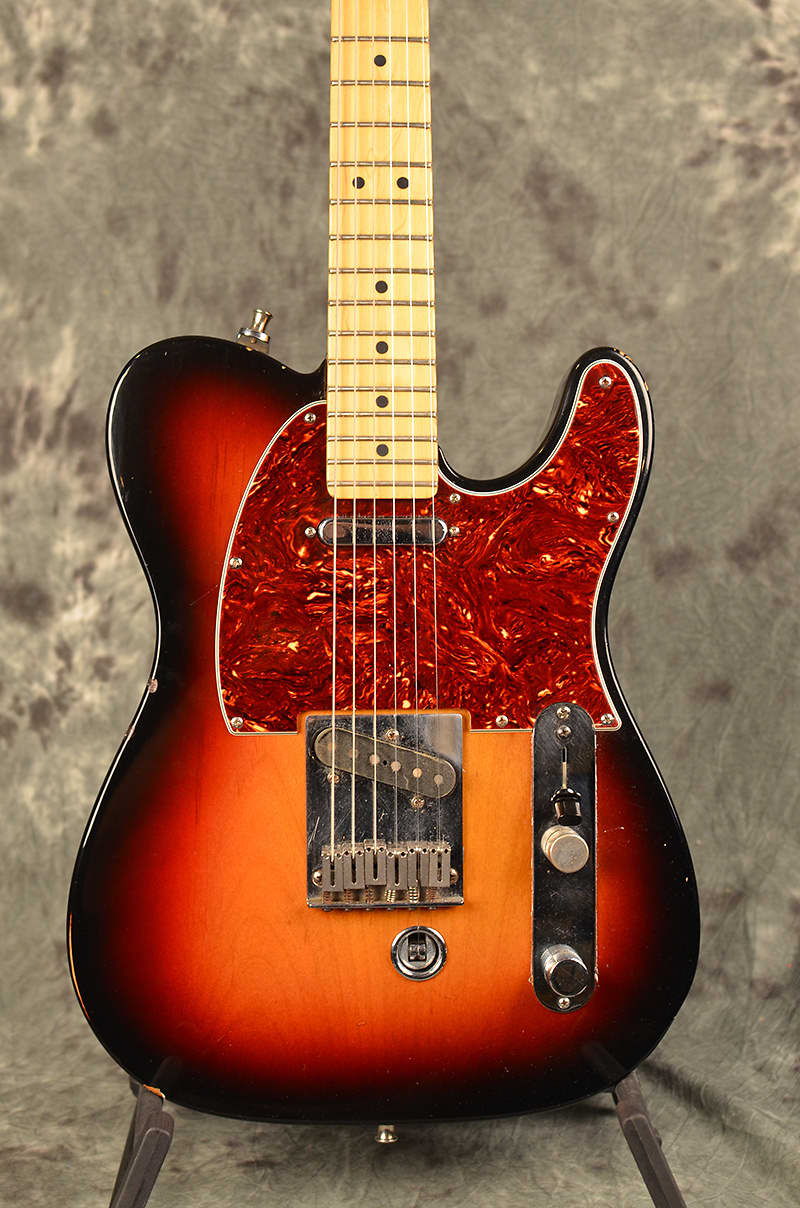 fender usa b bender telecaster 2006 sunburst tortoise reverb. Black Bedroom Furniture Sets. Home Design Ideas