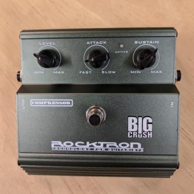Rocktron Big Crush Compressor Green for sale