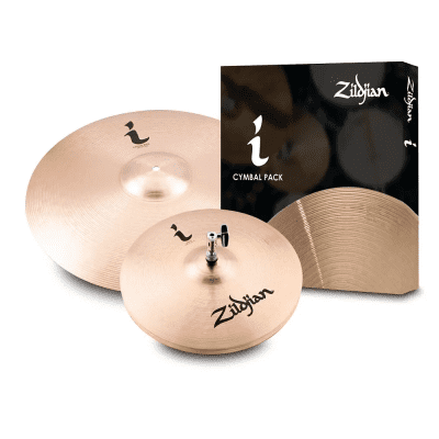 """Zildjian I Family Essentials Pack with 14"""" / 18"""" Cymbals 2020"""