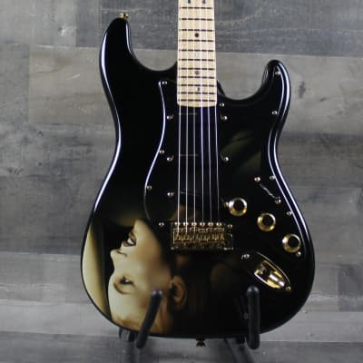 Fender  Dark Marilyn Monroe Artwork by Pamelina H. 2017 for sale