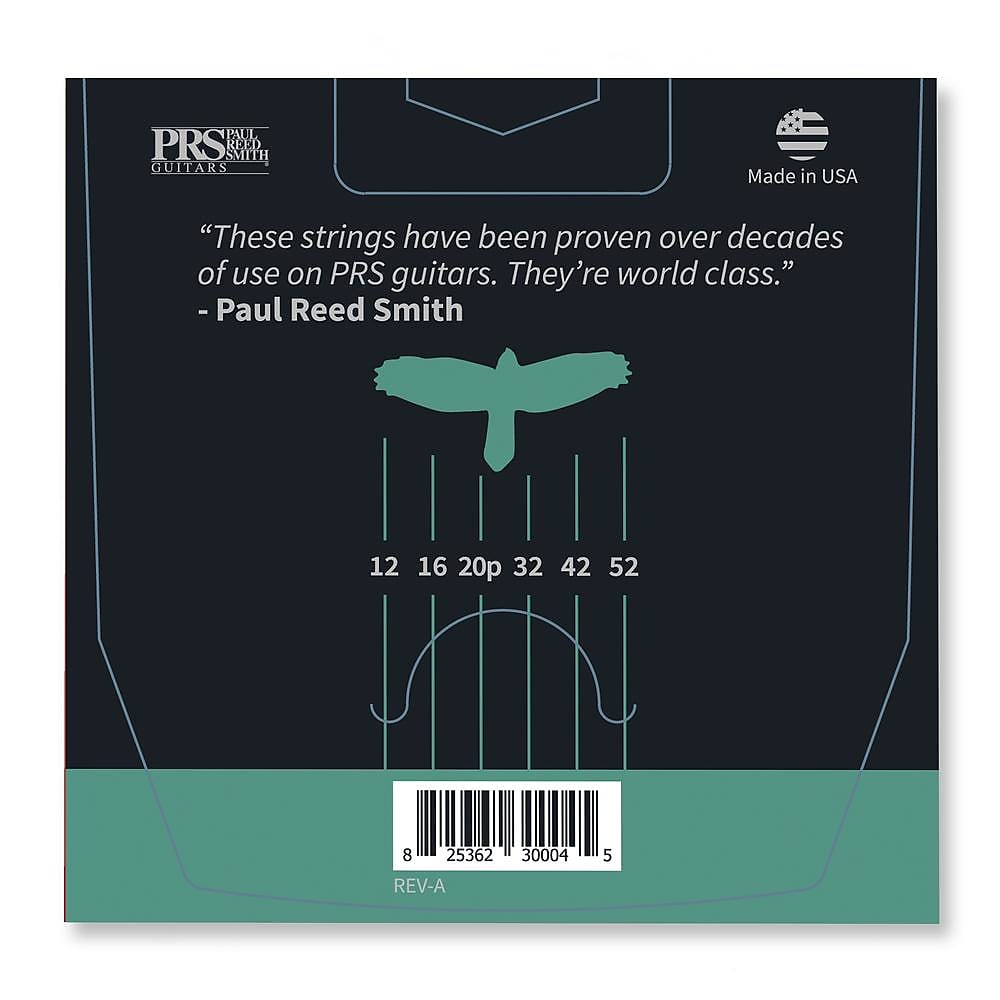 Paul Reed Smith PRS Classic Heavy Guitar Strings 12-52