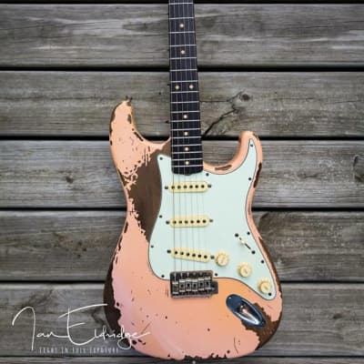 McLoughlin  Custom Relic Stratocaster  2017 Pink for sale