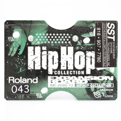 Roland SR-JV80-12 Hip Hop Collection Expansion Board #41696