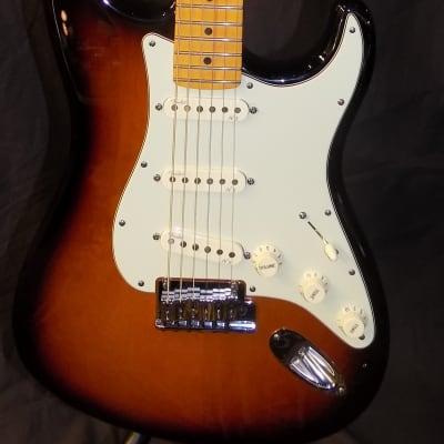 Fender American Deluxe Stratocaster w/ S1 switch 2011 2 tone sunburst for sale