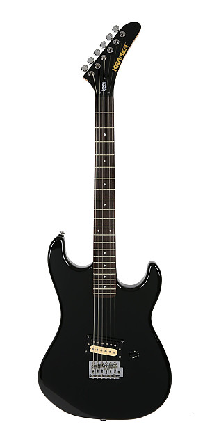 Kramer Baretta Special Black Stratocaster Strat Tremolo One | Reverb