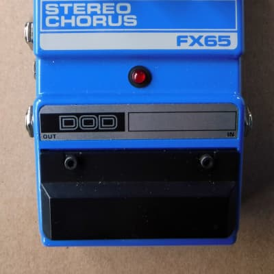 DOD Stereo Chorus FX65 Pedal-Mint Condition-Original Owner for sale