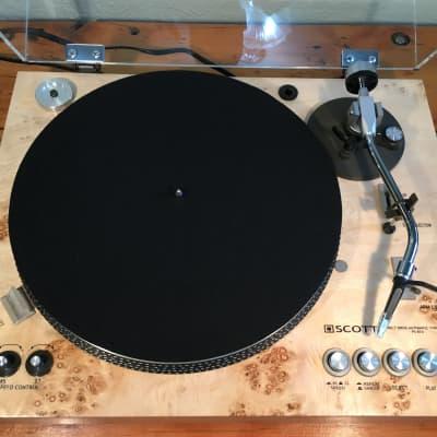 Black DJ Slipmat Record Vinyl Player Stereo Phono Gramophone Phonograph 3mil FREE Shipping!