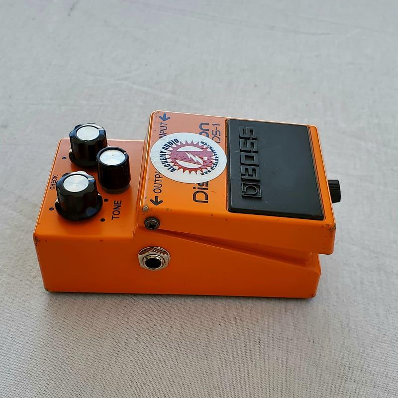 alchemy audio modded boss ds 1 distortion pedal reverb. Black Bedroom Furniture Sets. Home Design Ideas