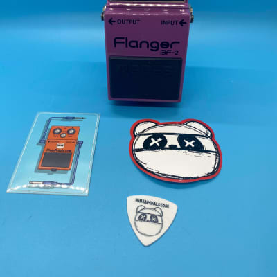 Boss BF-2 Flanger   Rare (1980s) Made in Japan   Fast Shipping!