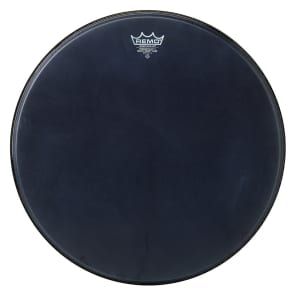 Remo Powerstroke P3 Black Suede Bass Drum Head 20""