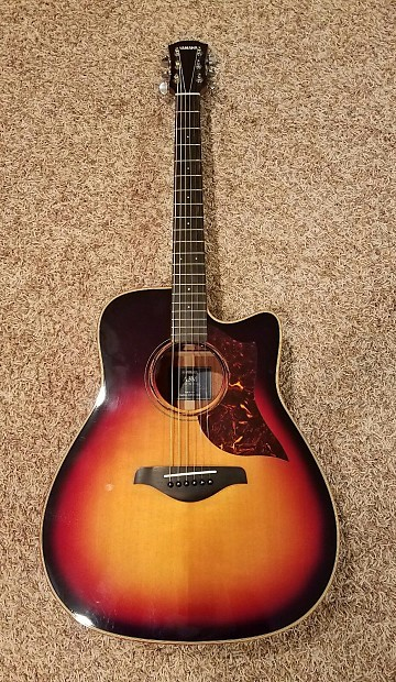 yamaha a3m vs acoustic electric guitar 2014 vintage sunburst reverb. Black Bedroom Furniture Sets. Home Design Ideas