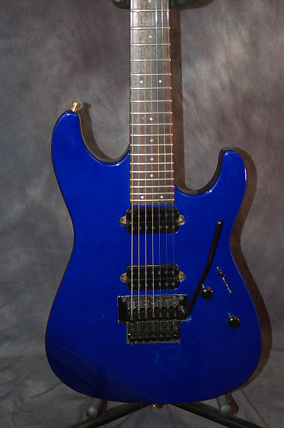 Deluxe Auto Parts >> Fender Squire Stagemaster 7 string 2003 Cobalt Blue New | Reverb