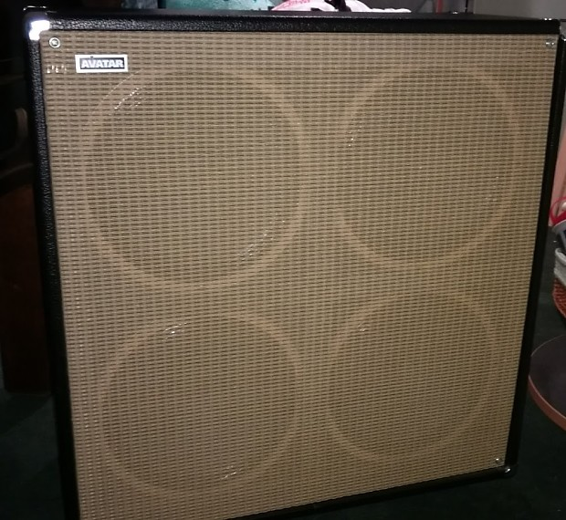 Avatar 4x12 cabinet with Celestion G12H | Reverb