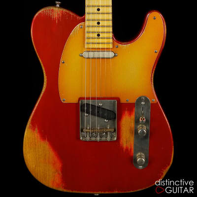 Palir Titan Classic Candy Apple Red - Lollar Pickups for sale