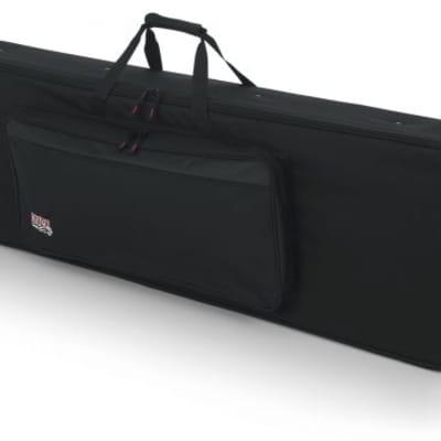 Gator GK88-SLIM Slim Lightweight 88-note Keyboard Case with Wheels - Restock Item