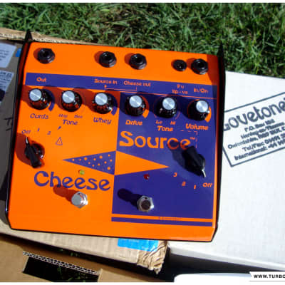 """Lovetone - Cheese Source - 2007 (includes all packaging / paperwork) - """"NOS"""""""