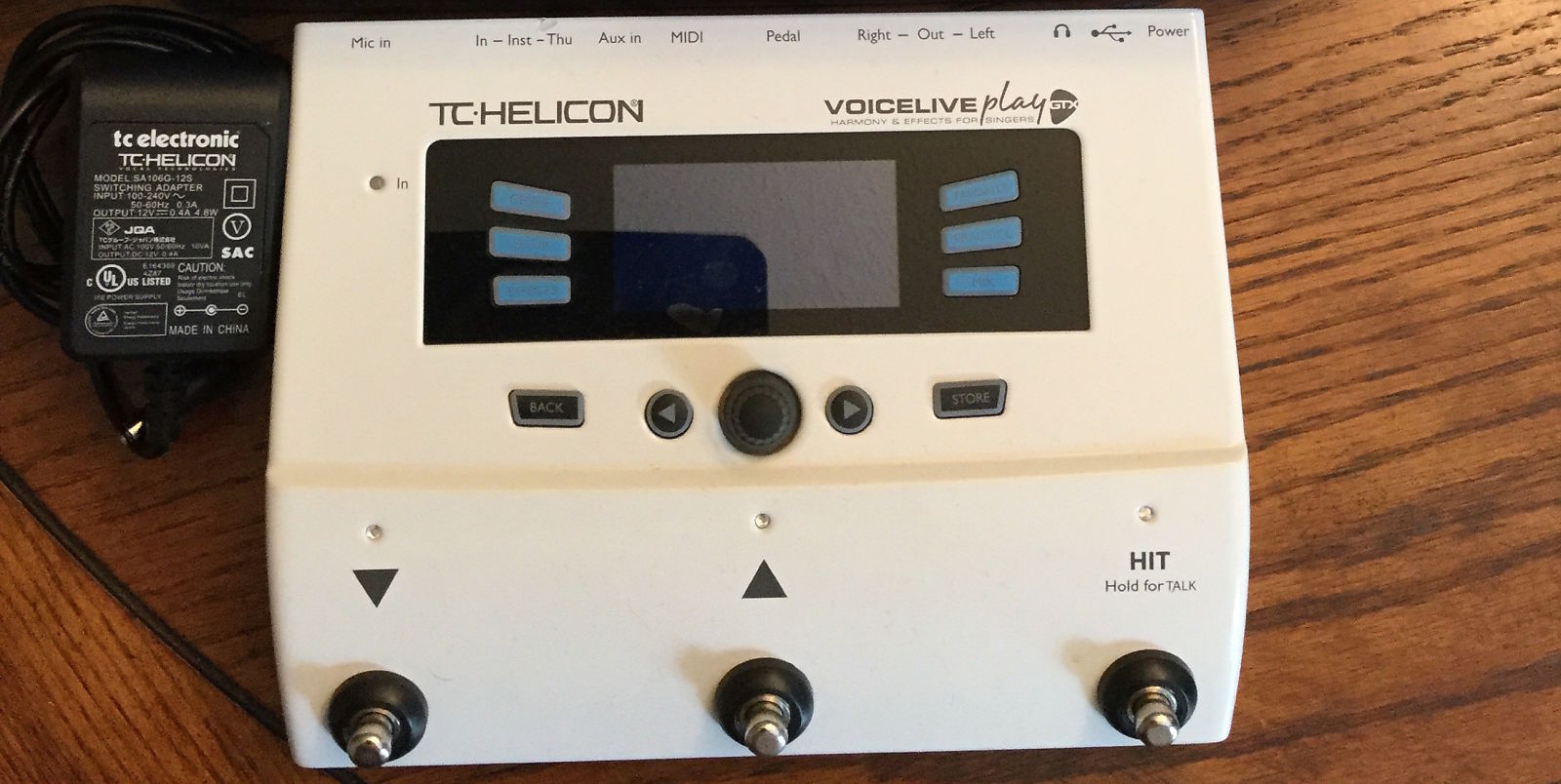 Tc Helicon Voicelive Play Gtx Vocal Amp Guitar Reverb