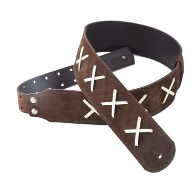 Right On Straps Legends David Gilmour Brown Strap