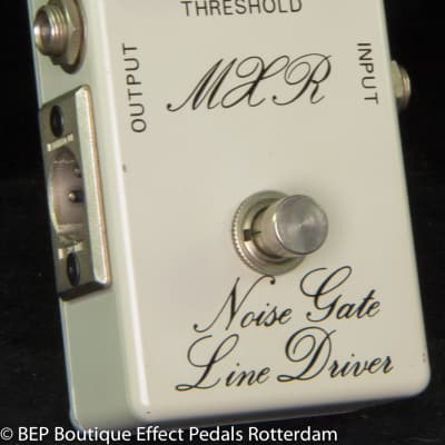 MXR MX-106 Noise Gate/Line Driver 1975 Script Logo,  rare BUD Box version