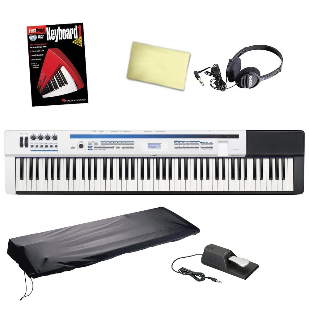 casio privia px 5s 88 key digital piano with dust cover reverb. Black Bedroom Furniture Sets. Home Design Ideas