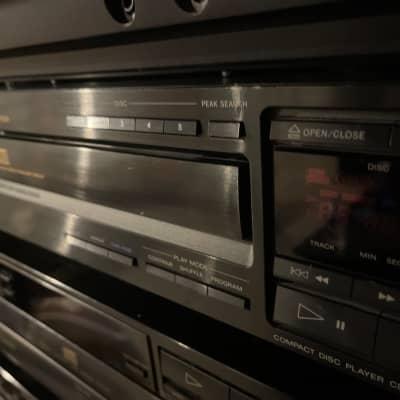 Sony CDP-C505 1990 Black CD player