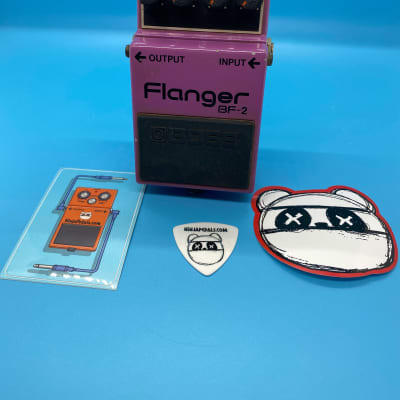 Boss BF-2 Flanger   Rare 1985 (Green Label) Made In Japan   Fast Shipping!