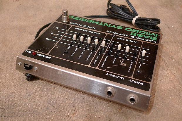 electro harmonix bass micro synthesizer 1980 reverb. Black Bedroom Furniture Sets. Home Design Ideas