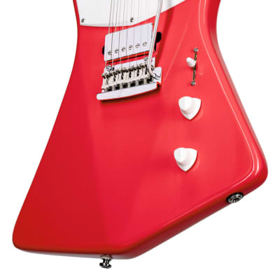 Sterling by Music Man St. Vincent STV60HH , Fiesta Red Electric Guitar for sale