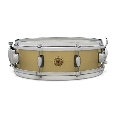 "Gretsch GAS42514-GB Gergo Borlai Signature 4.25x14"" Brass Snare Drum"