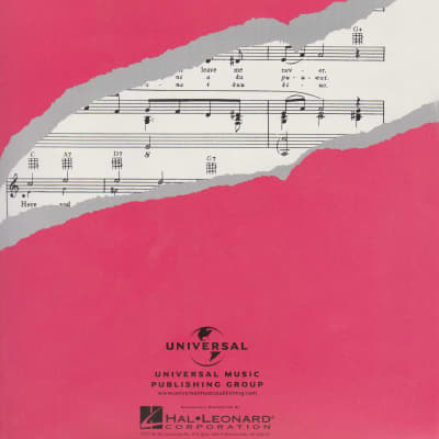 """The Hawaiian Wedding Song"" (Ke Kali Nei Au) Sheet Music Published by Universal Dist. Hal Leonard"