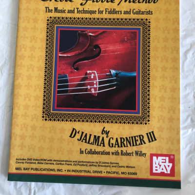Louisiana Creole Fiddle Method by D'Jalma Garnier III DVD Sheet Music Song Book