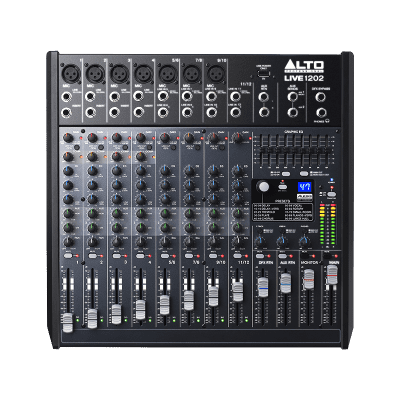 Alto Professional LIVE1202 Mixer with Effects 2019 Black