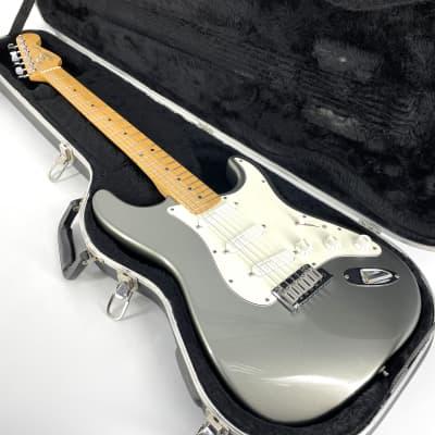1991 Fender American Standard Deluxe Vintage Stratocaster – Rare - Pewter for sale