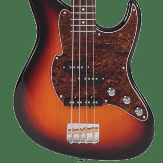 Fret-King Black Label Perception Bass FKV4OCB Classic Burst, New, Free Shipping image